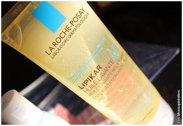 Lipikar, l'huile lavante La Roche-Posay