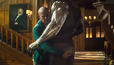 FOX Deadpool 2 Trailer Stills Deadpool squeezing Colussus' butt