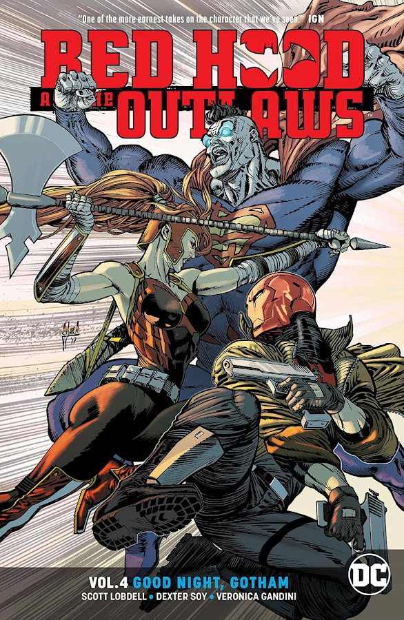 red hood and the outlaws good night gotham dc comics