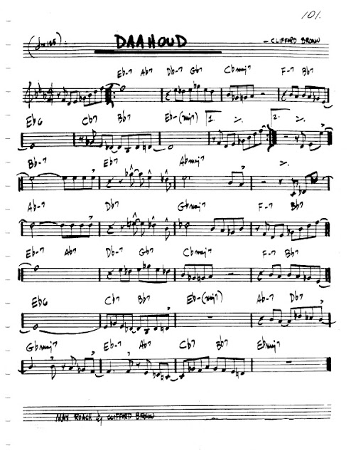 Partitura Violín Clifford Brown