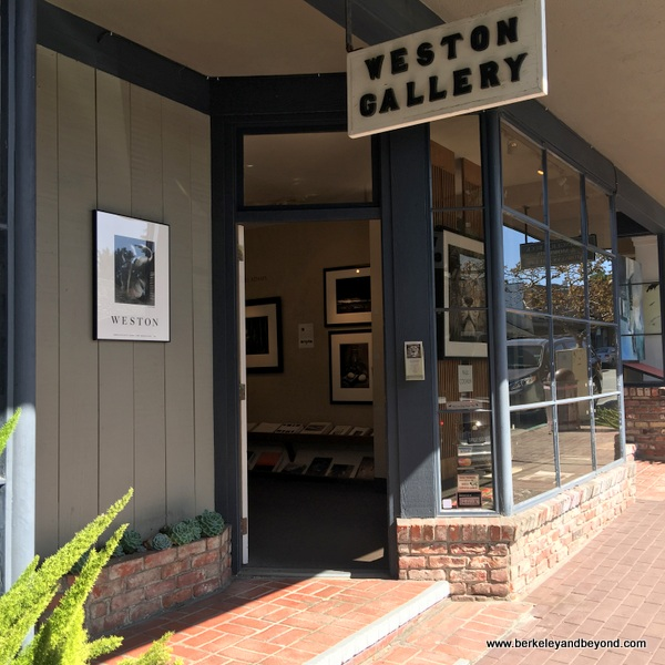 Weston Gallery art gallery in Carmel, California