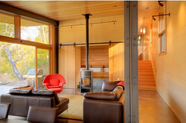 10 Awesome wohnzimmer schiebetüren