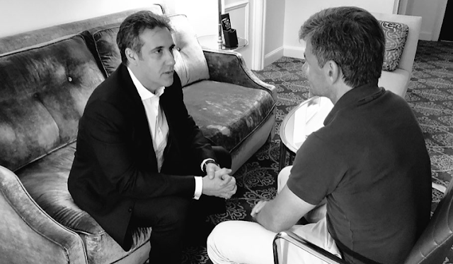 Michael Cohen teases new interview with ABC's George Stephanopoulos