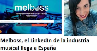 Melboss, el LinkedIn de la industria musical llega a España