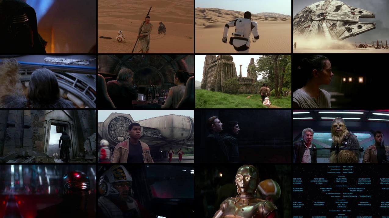 Star Wars Episode VII The Force Awakens 2015 720p BluRay 1017.8MB x264 Movie Screenshots