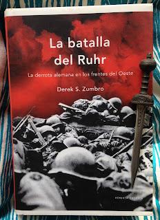 Portada del libro La batalla del Ruhr, de Derek S. Zumbo
