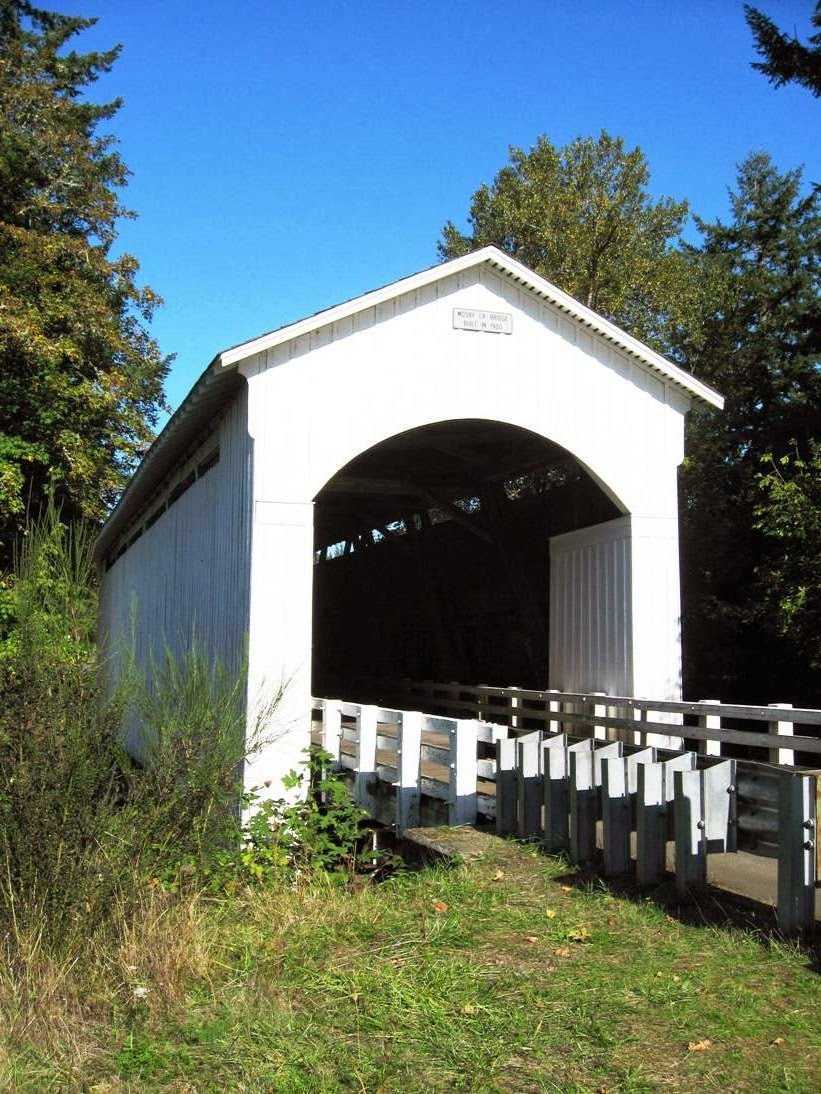 Sw Oregon Architect Lane County Covered Bridges