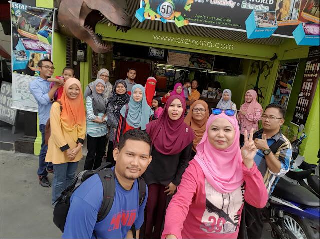 5D museum Penang, tempat menarik di penang, review by blogger Utara 5D museum, tempat meanrik di georgetown, best place in penang,