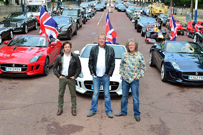 Jeremy Clarkson Richard Hammond e James May - Divulgação