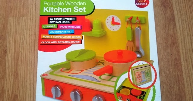 Wooden Kitchen Play Sets With Table And Chairs Bundles