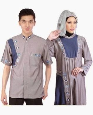 30 contoh model baju muslim couple terbaru 2018