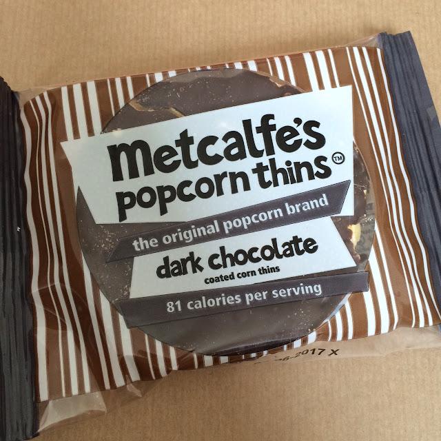 September Degustabox review, metcalfes Popcorn thins