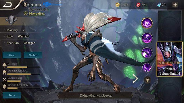 Hero Omen AOV Indonesia Si Letoy True Damage