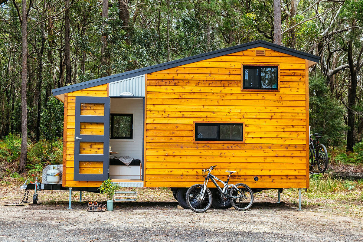 No Impact Girl: Man on a mission: Grant Emans, tiny house builder