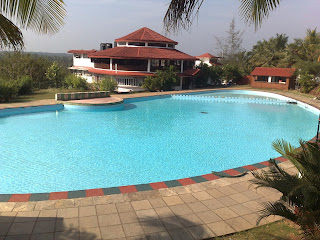 Pool Parties Goa - Woodbourne Resort Large Swimming Pool Goa