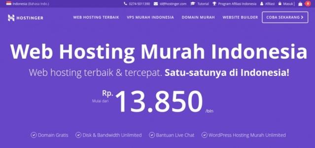 Kelebihan Hostinger Indonesia yang Membuatnya Menjadi Penyedia Web Hosting Terbaik dan Tercepat di Indonesia