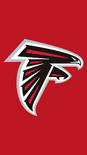 Wallpaper Atlanta Falcons red para celular