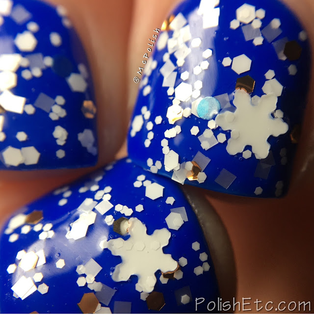 Whimsical Ideas by Pam - Holiday 2016 - McPolish - Precious Snowflake