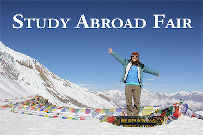 More Study Abroad Info:  Study Abroad Fair FRIDAY