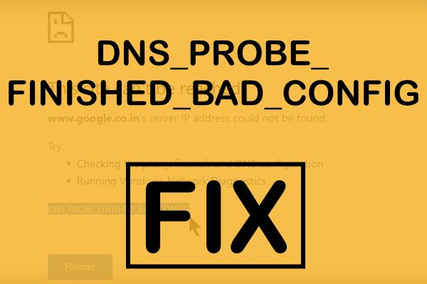 Cara Memperbaiki Kesalahan DNS_PROBE_FINISHED_BAD_CONFIG Pada Chrome & Firefox 2018