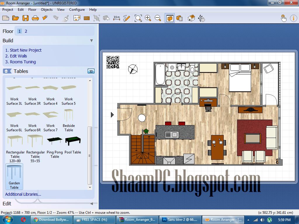 Room arranger 9 32bit keygen free download shaam pc for Room arranger