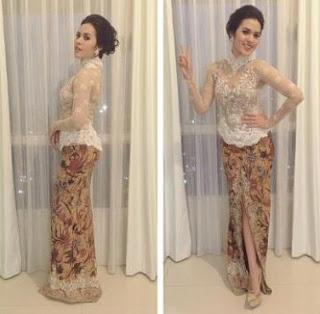Model Baju Kebaya Kartini Artis Cantik Raisa Terrbaru