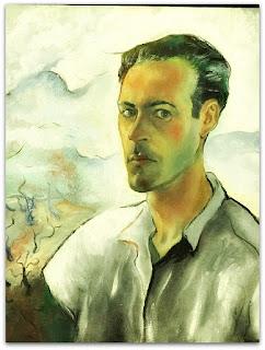 Iberê Camargo - Autoretrato (1943) - óleo sobre tela