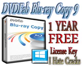DVDFab Blu-ray Copy 9 Free 1 Year Serial Key