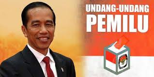 Jokowi Tanda Tangani UU Pemilu
