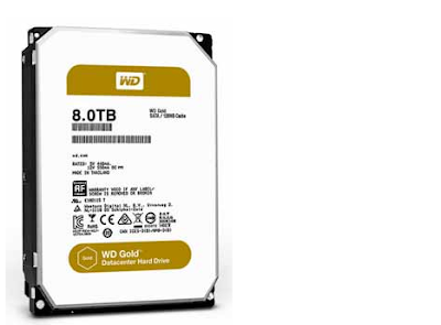 western digital gold 8TB