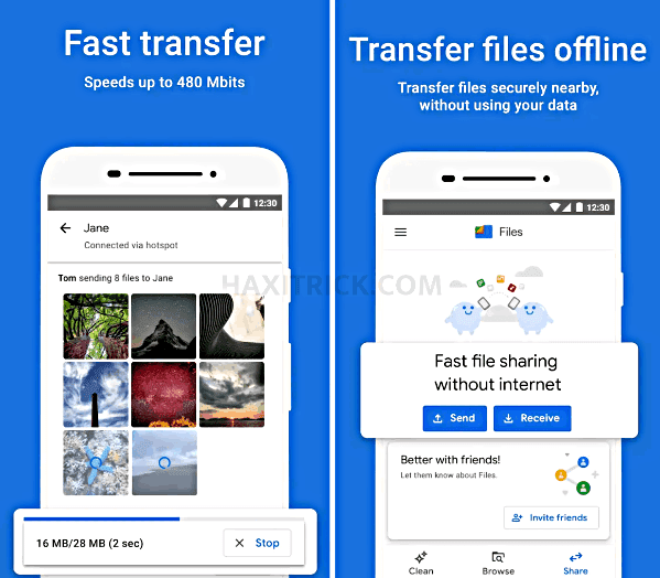 Files By Google - Non Chinese App For Fast File Transfer