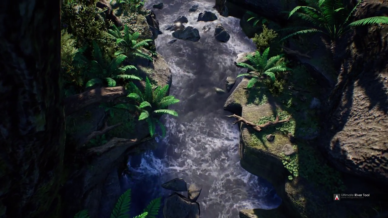 Ultimate River Tool For Unreal Engine 4 | Computer Graphics