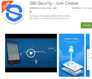 Ulasan Secara Lengkap tentang 360 Security - Junk Cleaner