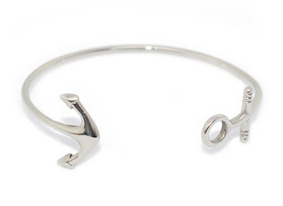 Lemon & Line Limited Edition Watch Hill Anchor Bangle