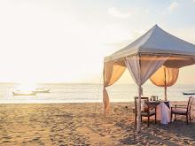 Menikmati Sunset dan Hidangan di Kuta Bali
