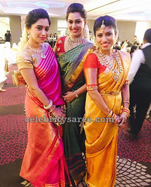 Aarthi and Vandana Traditional Sarees