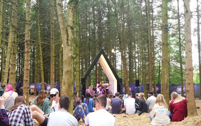 The chilled out Forest stage