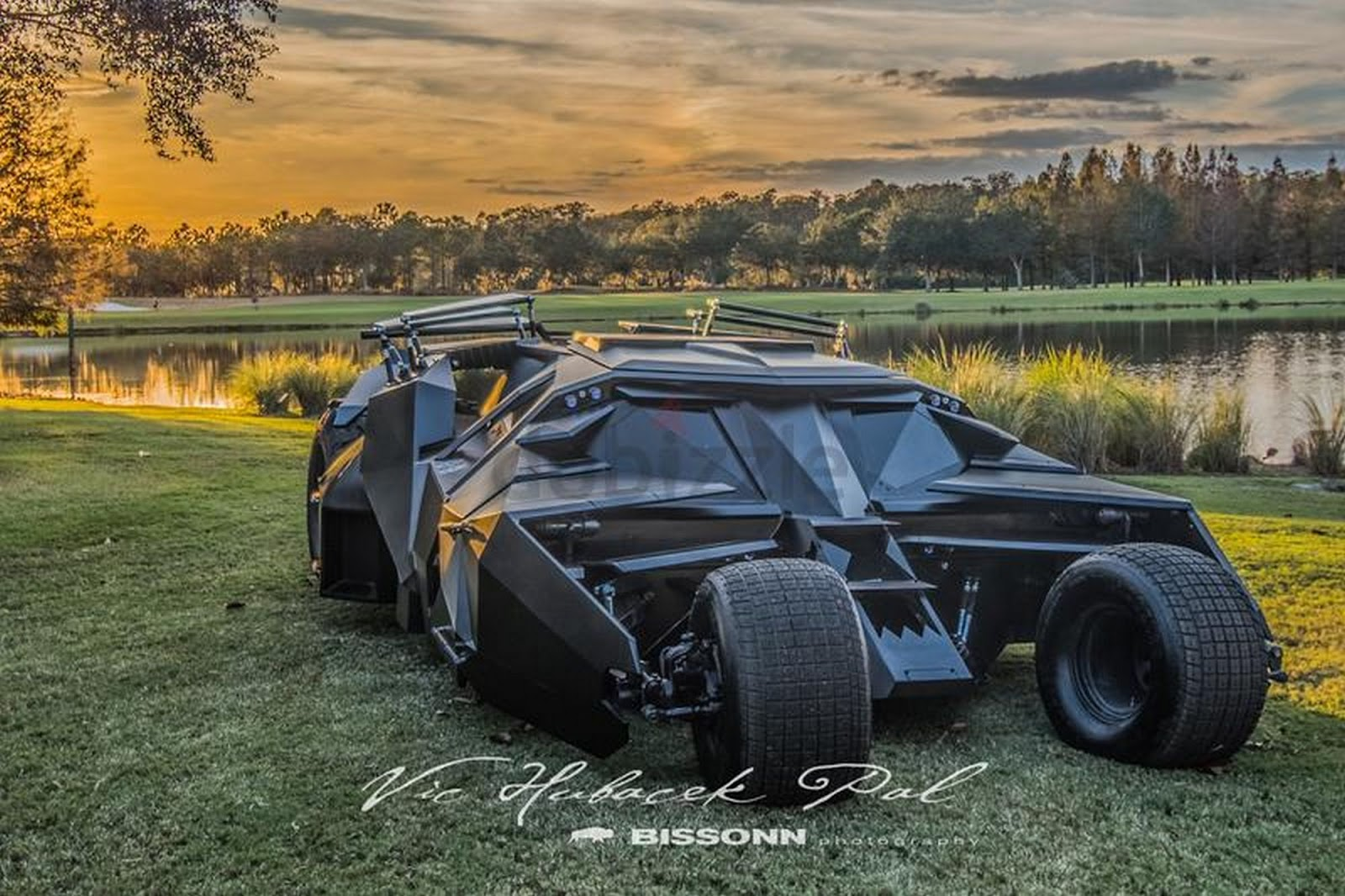 Batman's Tumbler And Justice League Batmobile Appear For Sale In Dubai