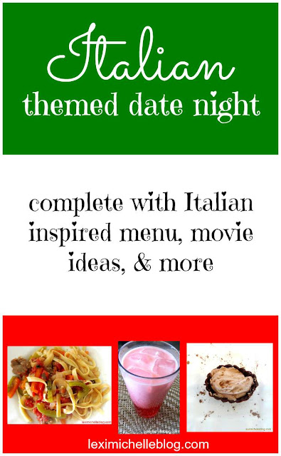Italian themed date night