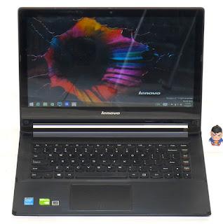 Laptop Design Lenovo Flex 2 Double VGA TouchScreen Bekas di Malang