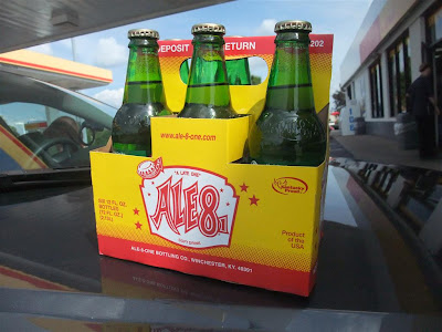 Ale 8, Ale 81, a late one, kentucky, winchester, great soda, ginger ale
