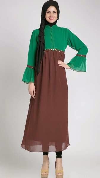 Model baju hamil muslim untuk wanita muda