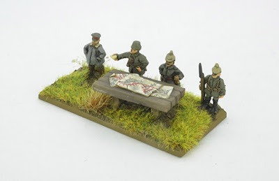4 Brigade Command figures