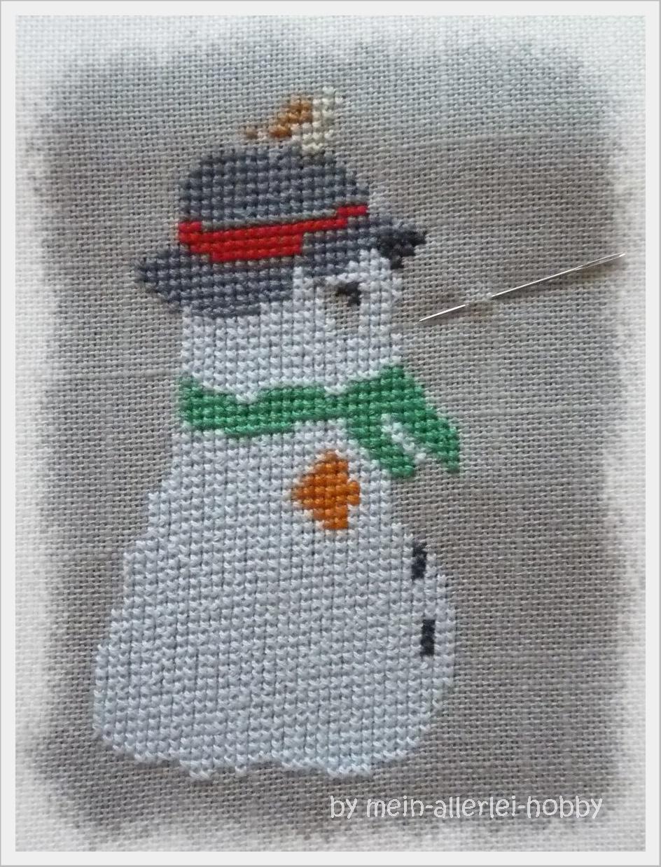 Mein-allerlei-Hobby: Neues Jahr - neue Stickarbeit