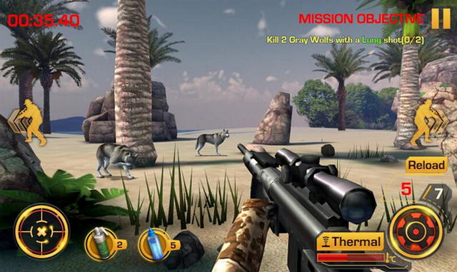 Best FPS Shooting Games for Android apk Free Download Wild Hunter 3D