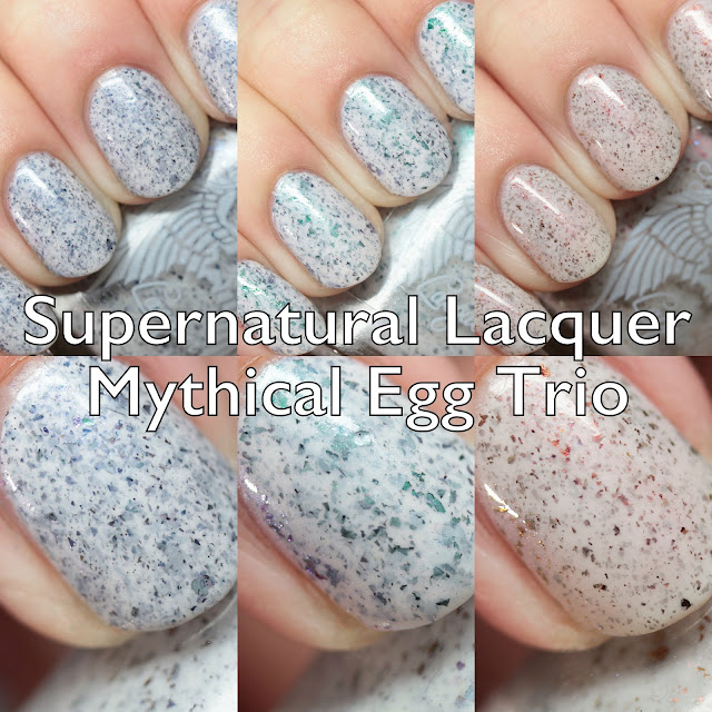 Supernatural Lacquer Mythical Egg Trio