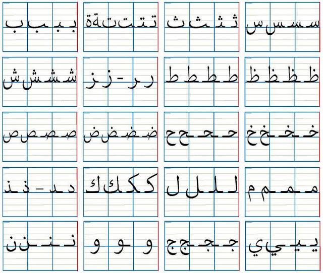تعرف على أفضل طريقة لكتابة الحروف