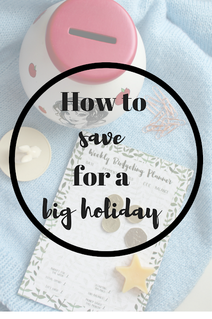 How to save for a big holiday the simple way. Nourish ME: www.nourishmeblog.co.uk