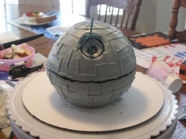 How To Make A Star Wars Lego Birthday Cake