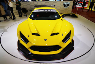Zenvo TS1 Super Car Top Picture